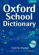 Cover for Oxford School Dictionary 2011