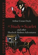 Cover for A Study in Scarlet & Other Sherlock Holmes Adventures