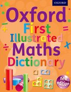 First Illustrated Maths dictionary cover