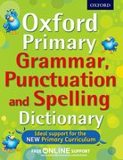 Primary Grammar Punctuation and Spelling Dictionary cover