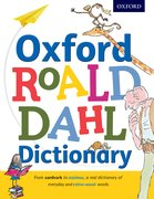 Cover for Oxford Roald Dahl Dictionary - 9780192736451