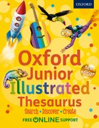 Junior Illustrated Thesaurus thesaurus cover