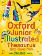 Junior Illustrated Thesaurus cover