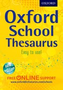 School thesaurus cover