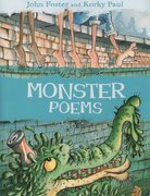 Cover for Monster Poems
