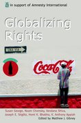 Cover for Globalizing Rights
