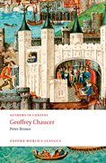 Cover for Geoffrey Chaucer (Authors in Context)