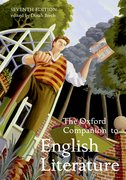 Cover for The Oxford Companion to English Literature
