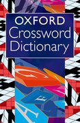 Cover for Oxford Crossword Dictionary