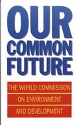 Cover for Our Common Future