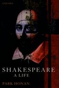 Cover for Shakespeare: A Life