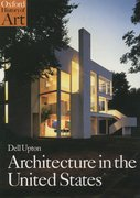 Cover for Architecture in the United States