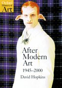 Cover for After Modern Art 1945-2000