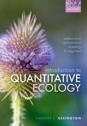 Cover for An Introduction to Quantitative Ecology