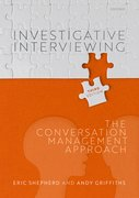 Cover for Investigative Interviewing