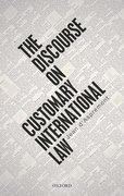 Cover for The Discourse on Customary International Law