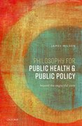 Cover for Philosophy for Public Health and Public Policy