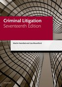 Cover for Criminal Litigation