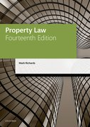 Cover for Property Law