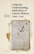 Cover for Collective Understanding, Radicalism, and Literary History, 1645-1742