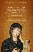 Cover for Religion, Conflict, and Criminal Justice in Late Medieval Italy