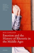 Cover for Emotion and the History of Rhetoric in the Middle Ages