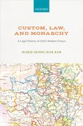 Cover for Custom, Law, and Monarchy