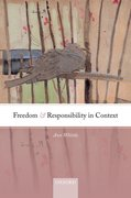 Cover for Freedom and Responsibility in Context