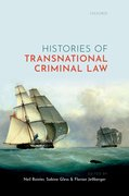 Cover for Histories of Transnational Criminal Law
