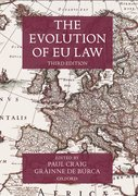 Cover for The Evolution of EU Law - 9780192846563