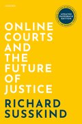 Cover for Online Courts and the Future of Justice - 9780192849304