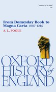 Cover for From Domesday Book to Magna Carta 1087-1216