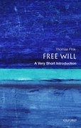 Cover for Free Will: A Very Short Introduction