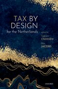 Cover for Tax by Design for the Netherlands