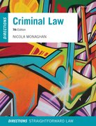 Cover for Criminal Law Directions
