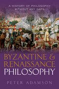 Cover for Byzantine and Renaissance Philosophy
