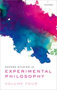 Cover for Oxford Studies in Experimental Philosophy Volume 4