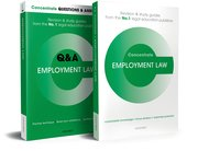Cover for Employment Law Revision Concentrate Pack