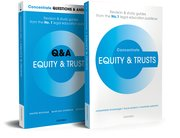 Cover for Equity and Trusts Revision Concentrate Pack