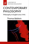 Cover for Contemporary Philosophy