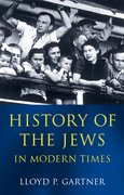 Cover for History of the Jews in Modern Times