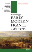 Cover for Early Modern France 1560-1715