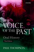 Cover for Voice of the Past