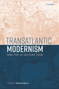 Cover for Transatlantic Modernism and the US Lecture Tour