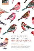 Cover for Guide to the Birds of China