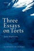 Cover for Three Essays on Torts
