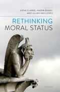 Cover for Rethinking Moral Status
