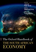 Cover for The Oxford Handbook of the South African Economy