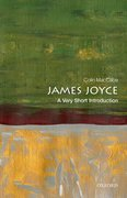 Cover for James Joyce: A Very Short Introduction