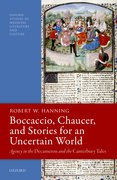 Cover for Boccaccio, Chaucer, and Stories for an Uncertain World